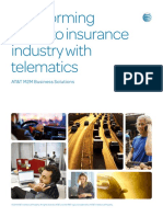 Transforming the Auto Insurance Industry With Telematics Whitepaper