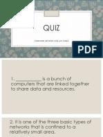 Computer Network Quiz