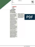 Urbino, convegno dedicato a Losurdo - Il Corriere Adriatico dell'11 giugno 2019