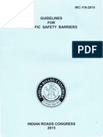 IRC-119-2015_Guidelines for Traffic Safety Barriers