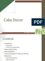 Chapter 3 - Cake Decor