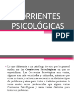Corrientes Psicológicas