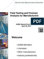 Webinar-Field Testing and Forensic Analysis for Manufacturers 4-28-15