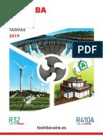 201906 Toshiba Aire Tarifa Reducida