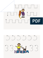 Fichas grafomotricidad Infantil
