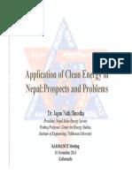 Nepal Solar Energy Society 2014