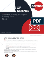 The State of Phishing Defense 2018