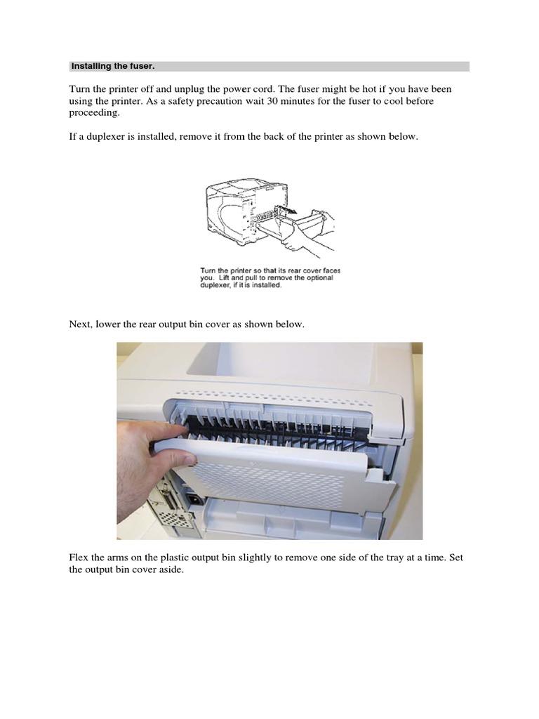 RIGHT SIDE HP LASERJET 4200 4250 4300 4350 FUSER CLIP HOLDING LEVER METAL PARTS
