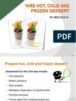 PPT Prepare Hot Cold & Frozen Dessert FN 090114