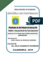 POLÍTICA EDUCATIVA DEMOCRÁTICA