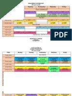schedule 2017-2018