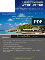 Job Advert - Room Attendant (1)
