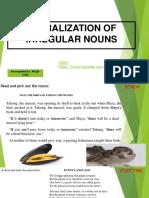 Devices Eng.6 Week2 Pluralization of Irregular Nouns