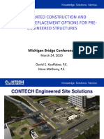 Accelerated Construction and Emergency Replacement Options for Pre Engineered Structures