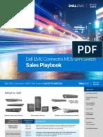 Dell Emc Connectrix Mds San Sales Playbook