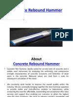 Concrete Rebound Hammer 6266545