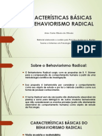 Behaviorismo Radical e Pratica Clinica