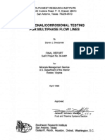 Weosionalcorosional Testing for Multiphase Flow Lines