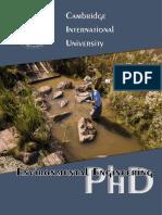 Environmental Engineering PHD