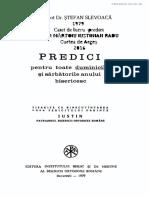 Predici Pr Stefan Slevoaca - Duminici