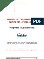 Manual de Cofiguracion Cliente Ftp Filezilla