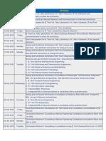 New Btech Schedule