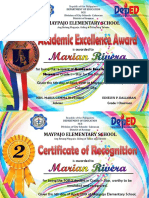 Certificate of Recognition Tarlac 1