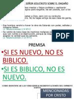 Como Identiificar Las Manifestaciones Biblicas Del Espiritu Santo