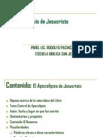 Apocalipsis de Jesucristo, Sintesis (1)
