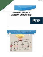 Tema 7. Farmacologia y Sistema Endocrino