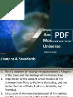 Ancient Greek Model of Universe