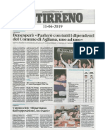Rassegna Stampa 2019-06-11