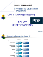 policy understanding - day 1