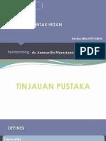 PPT REV (Dermatitis Kontak Iritan)