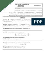 Mat II 2018 Modelo 1 Examen