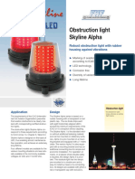 LED Obstruction Light Alpha 1 - 4