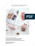 Leithygurumi Com-Amigurumi Bunny Keychain Free English Pattern