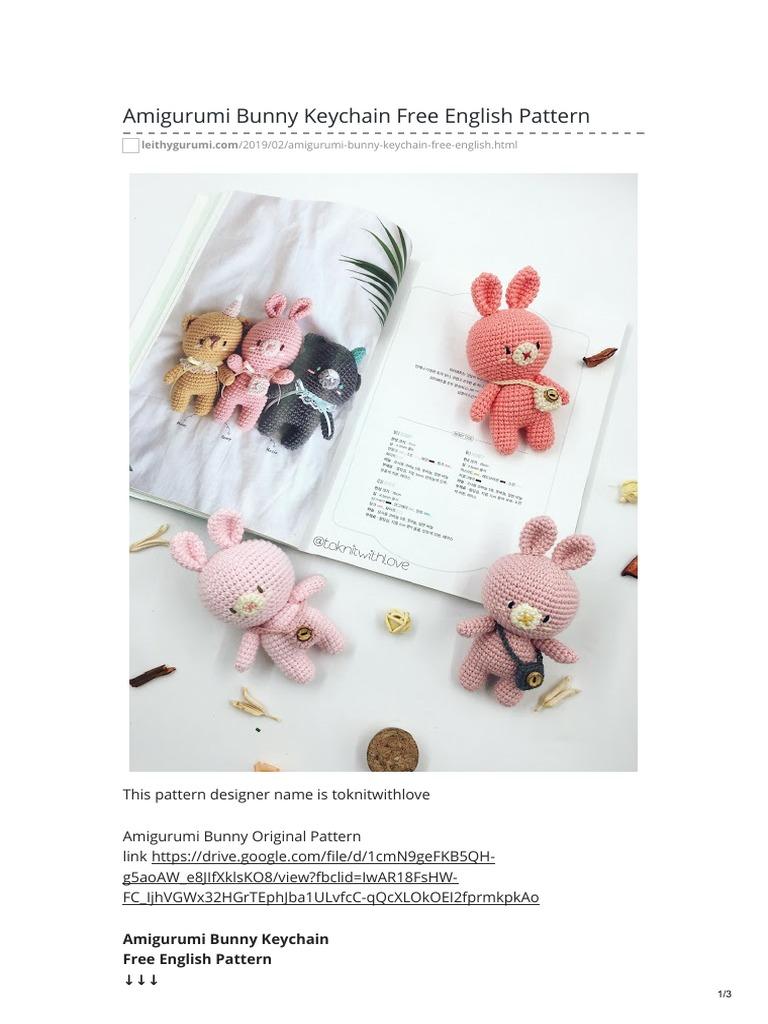 63 Free Crochet Bunny Amigurumi Patterns ⋆ DIY Crafts   1024x768