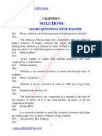 9 Chapter Solutions Short Questions With Answer