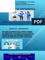 Presentacion Equipo de Enfermeria