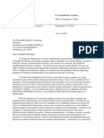 6 12 19 DOJ Letter to Cummings