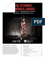 The Attorney General's Judges