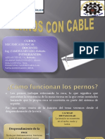 Pernos Con Cable Expo