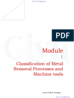 Manufacturing Process-II
