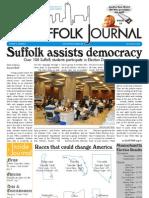 The Suffolk Journal 11/3/2010