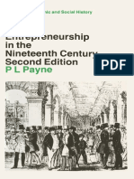 (Studies in Economic and Social History) P. L. Payne (Auth.) - British Entrepreneurship in the Nineteenth Century-Macmillan Education UK (1988)