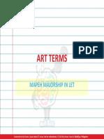 Arts - Terms