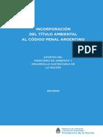 Titulo Ambiental Codigo Penal Argentino