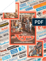 1981 Argos 235 Pages Sports Nature