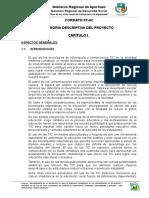 Ff-002 Memoria Descriptiva ASP. Generales